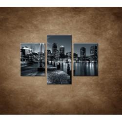 Obrazy na stenu - Boston  - 3dielny 90x60cm