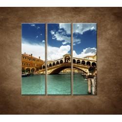 Obrazy na stenu - Benátky - 3dielny 90x90cm
