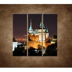 Obrazy na stenu - Bojnický zámok - 3dielny 90x90cm