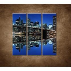 Obrazy na stenu - Brooklyn - 3dielny 90x90cm