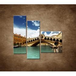 Obrazy na stenu - Benátky - 3dielny 110x90cm