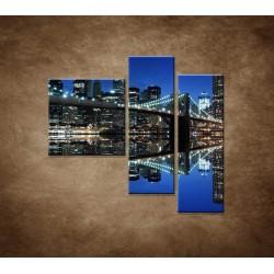 Obrazy na stenu - Brooklyn - 3dielny 110x90cm