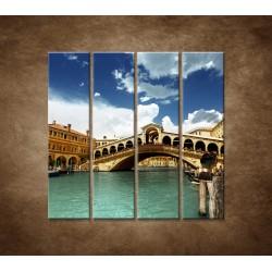Obrazy na stenu - Benátky - 4dielny 120x120cm