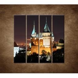 Obrazy na stenu - Bojnický zámok - 4dielny 120x120cm