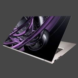 Nálepka na notebook - Fialové umenie