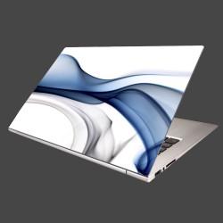 Nálepka na notebook - Modrý dym