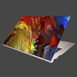 Nálepka na notebook - Zmes farieb