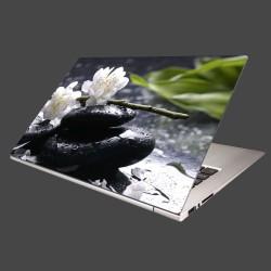 Nálepka na notebook - Sakura na kameni