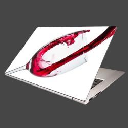 Nálepka na notebook - Červené víno