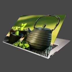 Nálepka na notebook - Kanvica s čajom