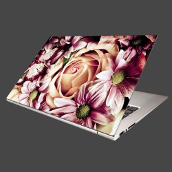 Nálepka na notebook - Kytica kvetov