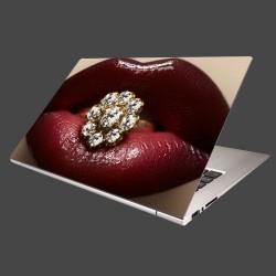 Nálepka na notebook - Diamant v ústach
