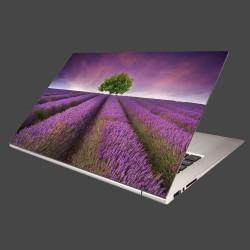 Nálepka na notebook - Levanduľové pole