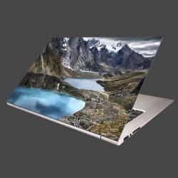 Nálepka na notebook - Tri lagúny
