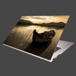 Nálepka na notebook - Loďka