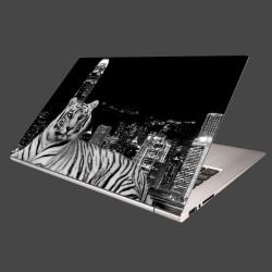 Nálepka na notebook - Mestský tiger