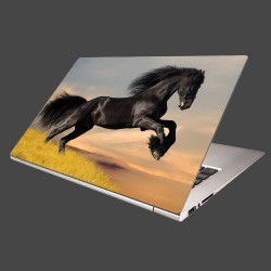 Nálepka na notebook - Skákajúci kôň