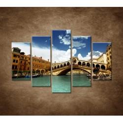 Obrazy na stenu - Benátky - 5dielny 150x100cm