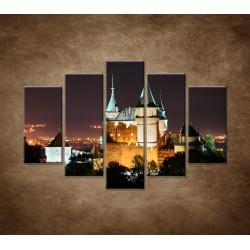 Obrazy na stenu - Bojnický zámok - 5dielny 150x100cm