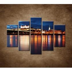 Obrazy na stenu - Bratislava - 5dielny 150x100cm