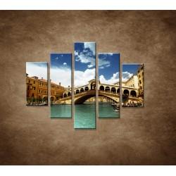 Obrazy na stenu - Benátky - 5dielny 100x80cm