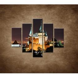 Obrazy na stenu - Bojnický zámok - 5dielny 100x80cm