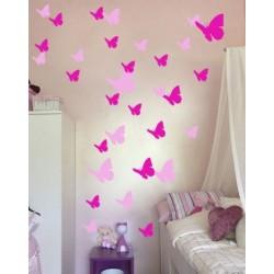 Motýlí kŕdeľ - 64 kusov