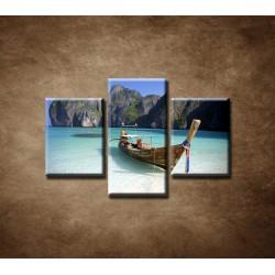 Obrazy na stenu - Zátoka - 3dielny 75x50cm