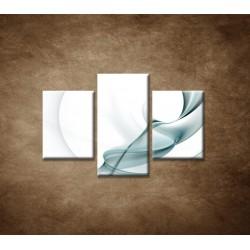 Obrazy na stenu - Modré pozadie - 3dielny 90x60cm