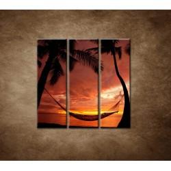 Obrazy na stenu - Odpočinok - 3dielny 90x90cm