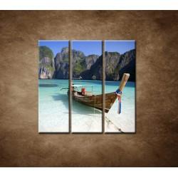 Obrazy na stenu - Zátoka - 3dielny 90x90cm