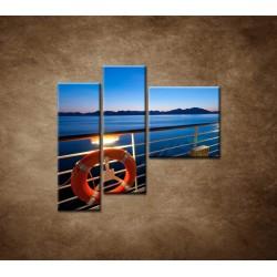 Obrazy na stenu - Paluba - 3dielny 110x90cm