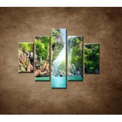 Obrazy na stenu - Raj - 5dielny 100x80cm