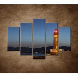 Obrazy na stenu - Maják - 5dielny 150x100cm