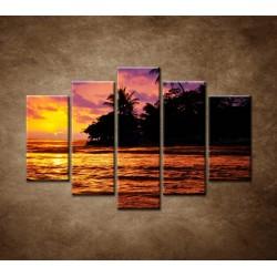 Obrazy na stenu - Farebná príroda - 5dielny 150x100cm