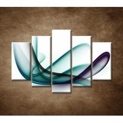 Obrazy na stenu - Elegantná špirála - 5dielny 150x100cm