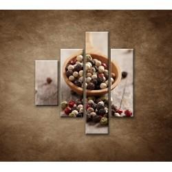 Obrazy na stenu - Korenie na vareške - 4dielny 80x90cm