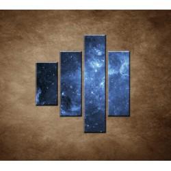 Obrazy na stenu - Galaxia - 4dielny 80x90cm