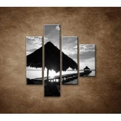 Obrazy na stenu - Výhľad na more - 4dielny 80x90cm