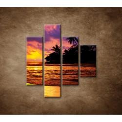 Obrazy na stenu - Farebná príroda - 4dielny 80x90cm