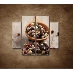 Obrazy na stenu - Korenie na vareške - 4dielny 100x90cm