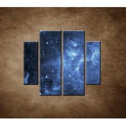 Obrazy na stenu - Galaxia - 4dielny 100x90cm
