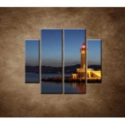 Obrazy na stenu - Maják - 4dielny 100x90cm