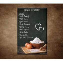 Obraz na stenu - Recept na lásku
