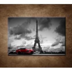 Obraz na stenu - Retro auto v Paríži