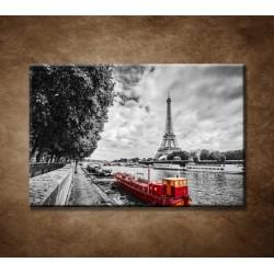 Obraz na stenu - Červená loďka