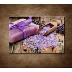 Obrazy na stenu - Levanduľové mydlo