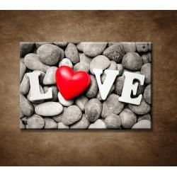 Obrazy na stenu - Love a kamene