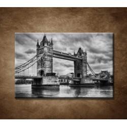 Obrazy na stenu - Tower Bridge v retro štýle