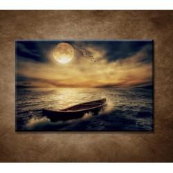 Obrazy na stenu - Loď v oceáne